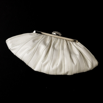 White Sequence Evening Bag 244