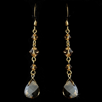 * Earring 8270 Gold Brown