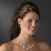 Necklace Earring Set 71580 Silver Clear