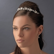 Silver Plated Bridal Headband HP 7877