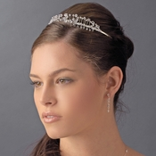 * Beautiful Swarovski Crystal Tiara Band HP 9031 ***6 Left***