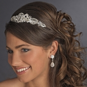 Silver Headpiece Tiara 602