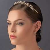 * Romantic Bridal Tiara HP 9943 ***Only available in Silver  0 Left ***
