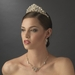 Stunning Gold Crystal Pearl & Rhinestone Headpiece HP 7825
