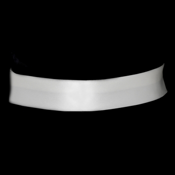 "Simple Matt Satin Plain Wedding Sash Bridal Belt 41 2"" Wide"