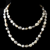 Natural Freshwater Pearl Necklace 9012