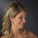 * Silver Plated Bridal Comb 6488