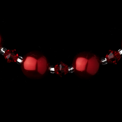 Necklace 8355 Red