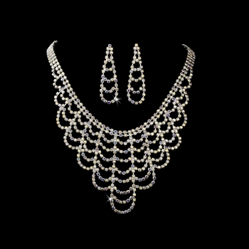 * Necklace Earring Set 366 AB