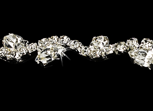 Crystal and Marquise Tiara HP 6008