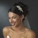 Silver Modern Rhinestone Couture Side Accented Headband - HP 8341