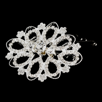 * Elegant Vintage Filligree Brooch 5