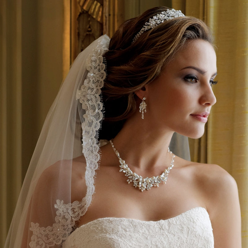 White Wedding Dress Gold Jewelry: Wholesale Gold, Silver, Pearl, Crystal And Rhinestone