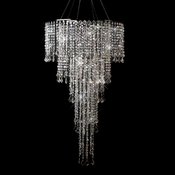 Multi Diamond Cut Beaded Crystal Chandelier 10 & 11 AB