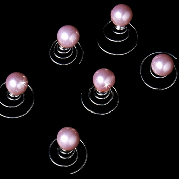 12 Lovely Pink Pearl Twist-Ins 02