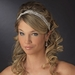 Silver Headband Headpiece 9854 (White or Ivory)