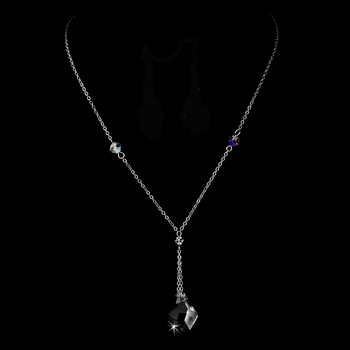 Necklace 8124 Silver Clear