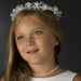 White Children's Headpiece 4770***Discontinued***