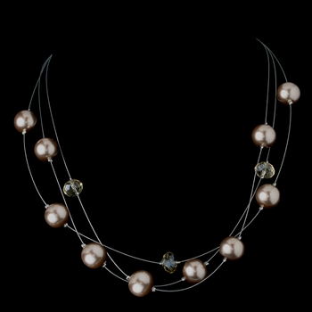 Necklace 8362 Taupe