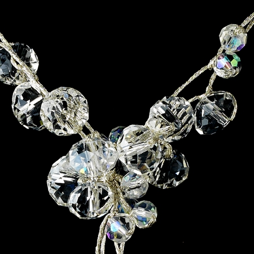 AB Swarovski Crystal Necklace N 8382