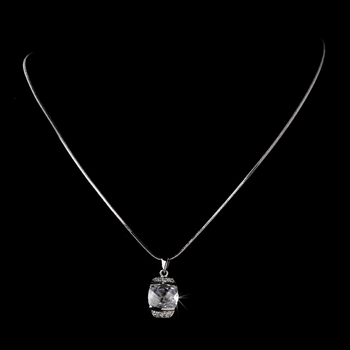 Necklace 6502 Silver Clear