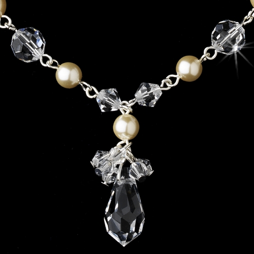 Necklace 8353 Dark Ivory