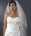 "Veil 150 Ivory - 2 Layer Veil (30"" x 120"" long x 72"" wide) Beaded Embroidery***Discontinued in Ivory****"