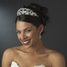 * Beautiful Pearl & Rhinestone Bridal Tiara HP 8316 (Silver or Gold)