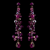 Earrings 938 Fuchsia