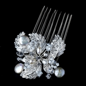 * Pearl Hair Comb 3338