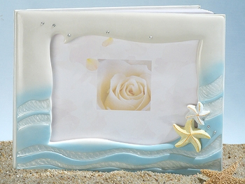 Starfish Beach Wedding Guest Book GB 444