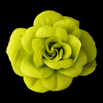 * Green Flower Hair Clip with Brooch Pin 480 Discontinued
