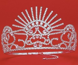 Wholesale Crystal Rhinestone Pageant Crowns Tiaras HP 6085