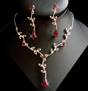 Red Accent Jewelry