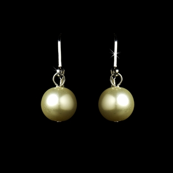 * Sophisticated Ivory Pearl Drop Earrings E 8340