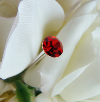 Red Bouquet Crystal Jewelry Picks BQ-Solataire Red