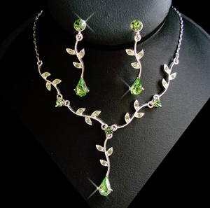 Green Accent Jewelry