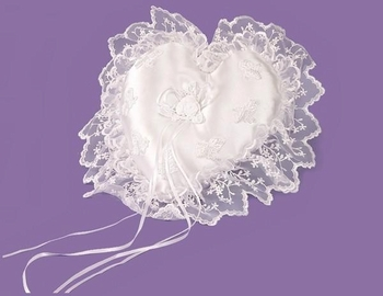 Heart Bridal Ring Bearer Pillow RP 1922