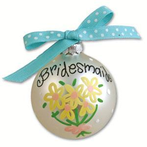 Bridesmaid Wedding Day Ornament OR-10