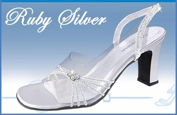 * Ruby Evening Shoe with Sparkle