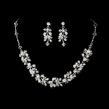 * Couture Bridal Necklace & Earring NE 663