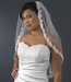 "Bridal Wedding Veil 1572 1E - Single Layer Elbow Length (30"" long x 54"" wide)"