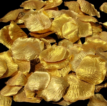 Gold Rose Petals (100 Count) #27