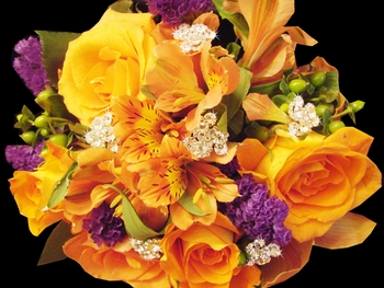 Sparkling Bouquet Swirls - (Sold in Sets of 2)