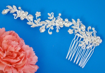 Crystal Couture Vine Bridal Comb HP-T3136
