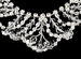 Swaroski Crystal Bridal Jewelry & Tiara Set HP 7093 & NE 7209