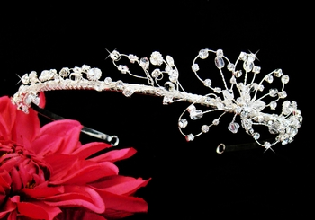 Unique Crystal Fascinator Headband (Only 1 In Stock) Buy Now & $$