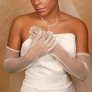 Formal or Bridal Gloves Style GL70001-12A