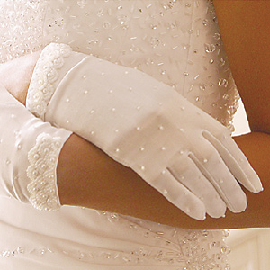 Formal or Bridal Gloves Style GL80038-2W
