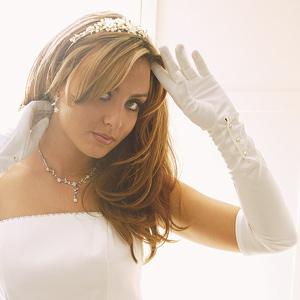 Formal or Bridal Gloves Style GL851-14A